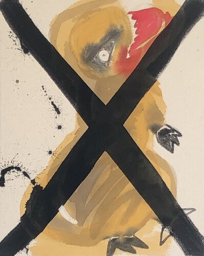 Liz Markus, 'X Running T Rex ', 2020