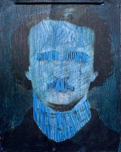 Irina Vladi, 'Poe in Silk: Shut the Fuck Up Series, I', 2019