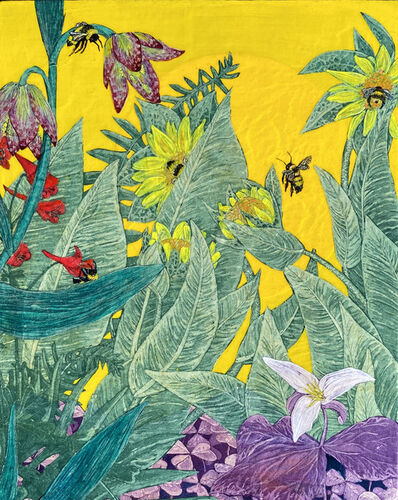 Julia Lucey, 'Bumblebees', 2020
