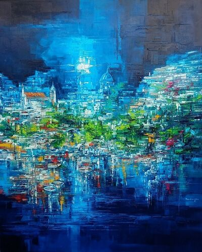 Roberto Di Viccaro, 'Paesaggio riflesso', 2019