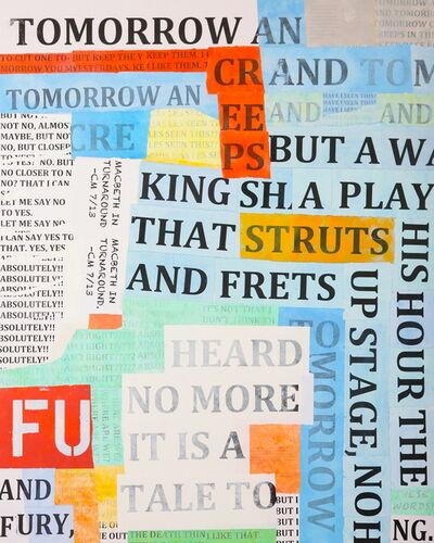 Charlie Miesmer, 'Macbeth In Turnaround', 2013