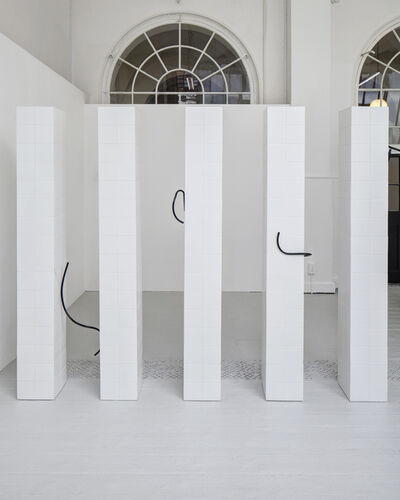 Prem Sahib, 'Installation view, Watch Queen series, Royal Academy Schools', 2013
