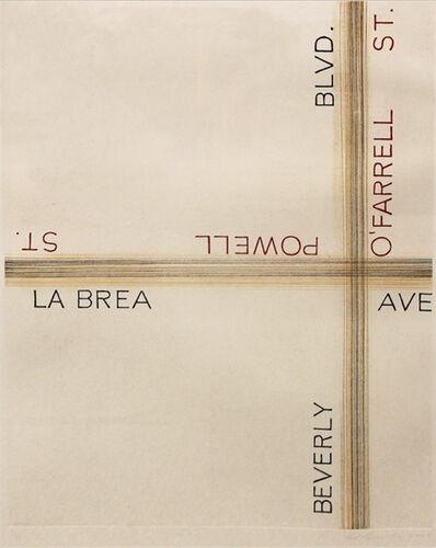 Ed Ruscha, 'L.A.S.F. #1', 2003
