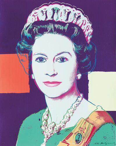 Andy Warhol, 'Queen Elizabeth II of United Kingdom ', 1985