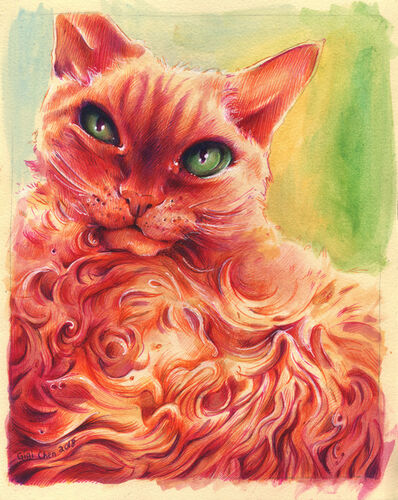 Gigi Chen, 'Fire Cat ', 2018