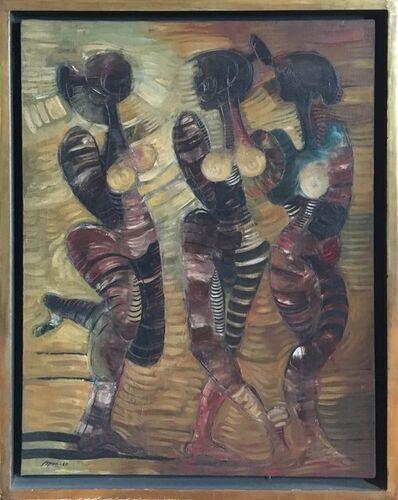 Byron Galvez, 'Bailarinas', 1967