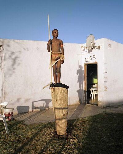 "Namsa Leuba, 'Warrior, from the series ""Zulu Kids"" ', 2014"