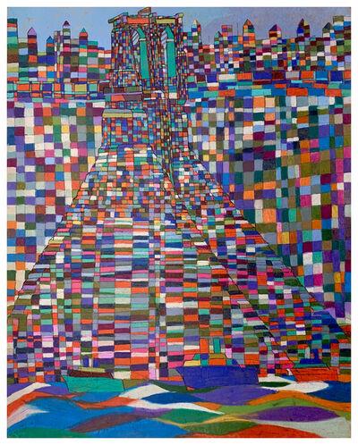 Robert Latchman, 'The Bridge Floats Above Water', 2019