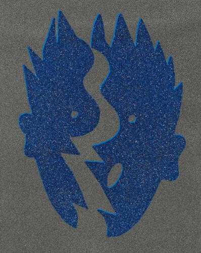 Kiki Kogelnik, 'Split Blue', 1996