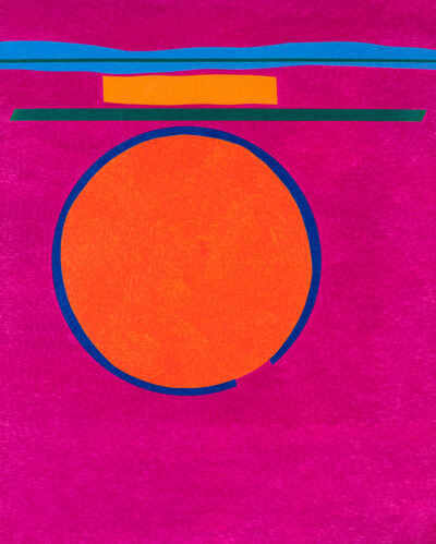 Stephen Antonakos, 'Untitled Drawing O#1', 1982