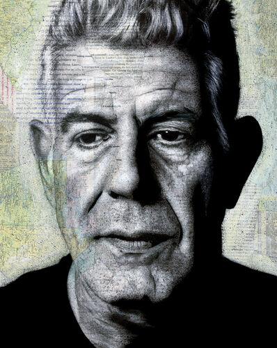 André Monet, 'Anthony Bourdain', 2018