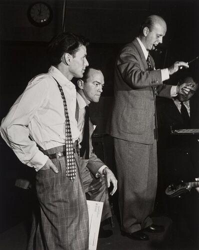 William Gottlieb, 'Frank Sinatra and Axel Stordahl', 1947