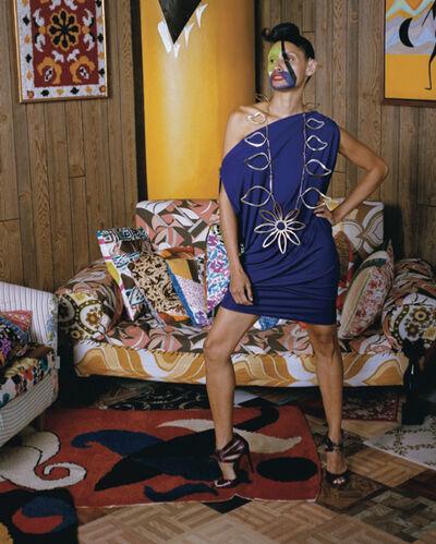 Mickalene Thomas, 'Calder Series #5', 2013