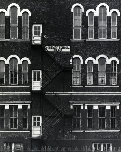 Ray K. Metzker, 'Chicago (Mosley School)', 1956