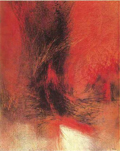 Miguel Ocampo, 'Rojo Invierno', 1965