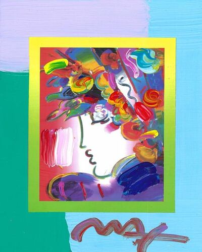 Peter Max, 'Blushing Beauty on Blends (Ref. # 2280)', 2007
