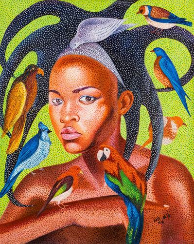 Alfi Alfa, 'La beauté africaine attire le monde', 2016