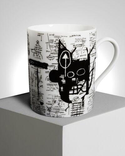 "Jean-Michel Basquiat, '""Return of the Central Figure"" Porcelain Mug', ca. 2019"