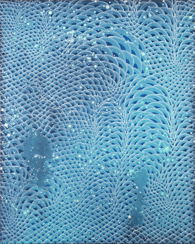 Barbara Takenaga, 'Aquamarine 2 ', 2018