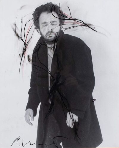 Arnulf Rainer, 'Self-portrait', 1976