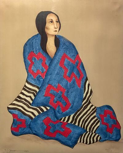 R.C. Gorman, 'Chief's Blanket St. I', 1980