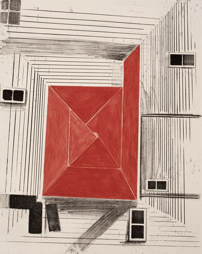 Christopher Brown, 'RED SQUARE', 2007