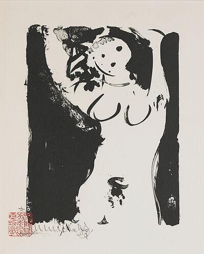 Shiko Munakata, 'Untitled (Standing Nude)'