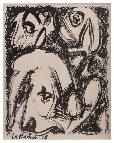 Lee Krasner, 'Untitled', 1958