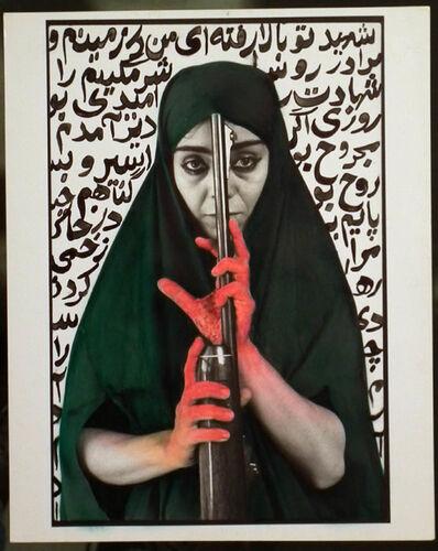 Shirin Neshat, 'Seeking Martyrdom', 1994