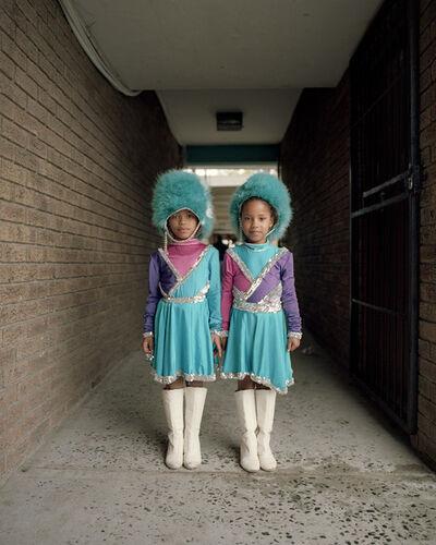 Alice Mann, 'Amber Matthews and Ra'eesha Maneveldt', 2017