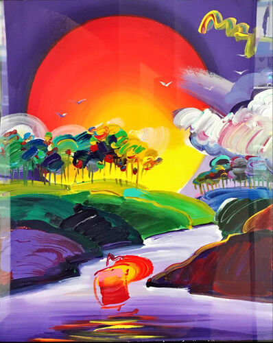 Peter Max, 'Without Borders', Before 2015