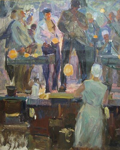 Vasily Vasilevich Strigin, 'Glass manufacturing', 1972