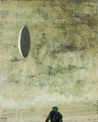 José Enguídanos, 'Retrato de mono', 2014