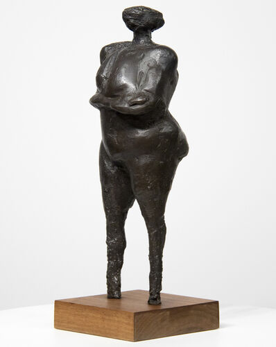 Rico Lebrun, 'Woman with Arms Under Breasts', 1962-1963