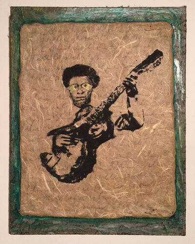 Lee Jaffe, 'Cordially Yours, Blind Willie McTell', 1990