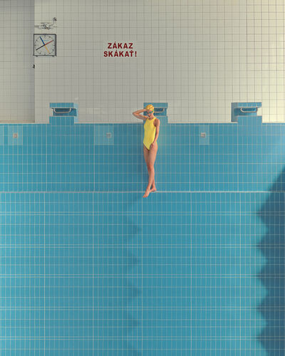 Maria Svarbova, 'No Diving (Yellow)', 2020