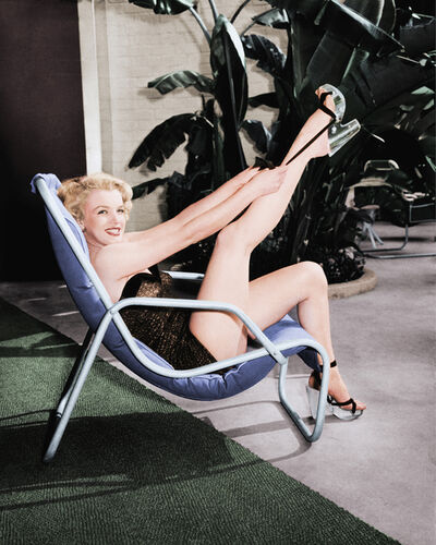 Frank Worth, 'Marilyn Monroe Glamour by the Pool', 1949