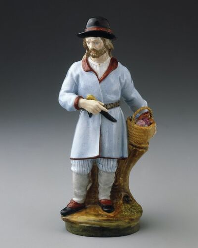 Imperial Porcelain Factory, 'Finnish Peasant Man', ca. 1780
