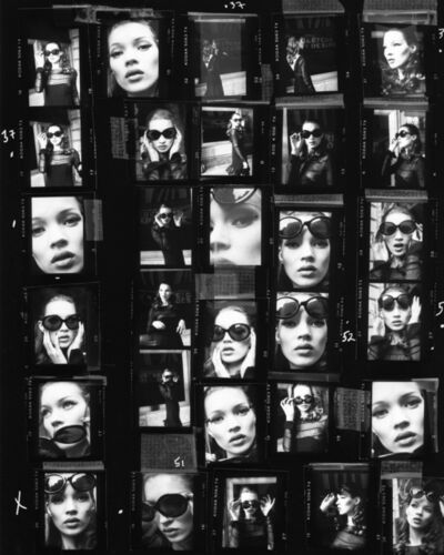 Stephanie Pfriender Stylander, 'Kate Moss (Desire) Contact Sheet, Harper's Bazaar Uomo, New York', 1992