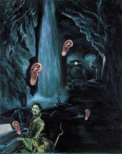 Tadanori Yokoo, 'Listen to the Rumbling Wheel in Everything', 1994