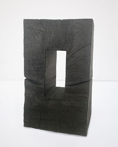 David Nash, 'Black Frame', 2019