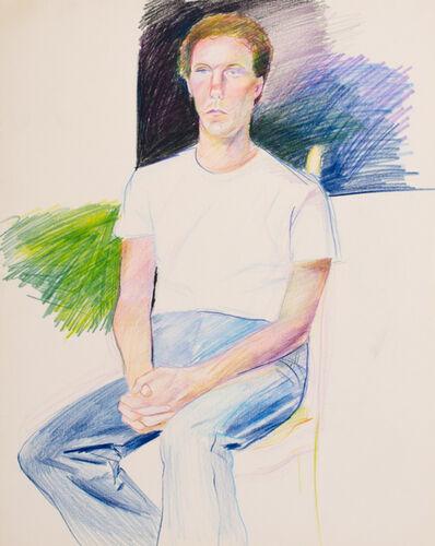 Patrick Angus, 'Boy in White Shirt'