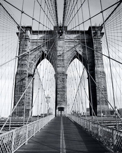 Andrew Prokos, 'Brooklyn Bridge Tower and Cables', 2007
