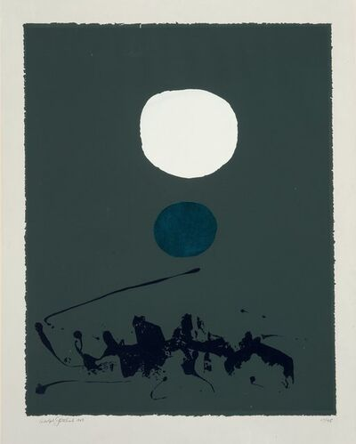 Adolph Gottlieb, 'Green Dream', 1969
