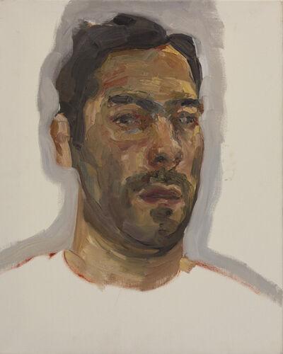 Esteban Ocampo, 'Selfie Painted With Dead Palette', 2016