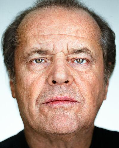 Martin Schoeller, 'Jack Nicholson', 2002