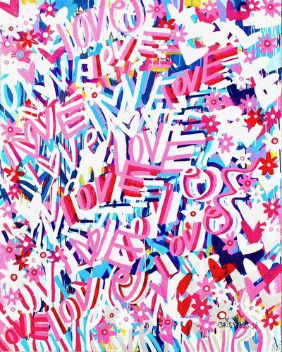CHRIS RIGGS, 'Love Painting 7', 2018