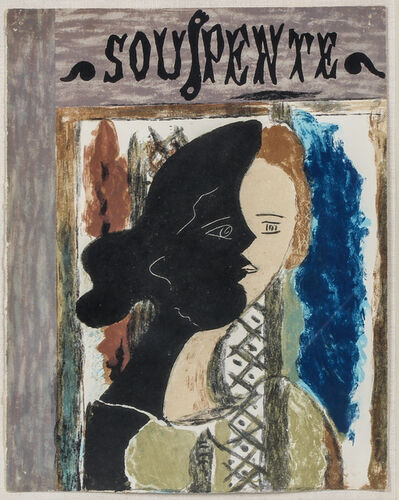 Georges Braque, 'Souspente', 1945