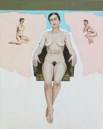 Christophe Avella-Bagur, 'Jeune fille sure d'elle', 1998