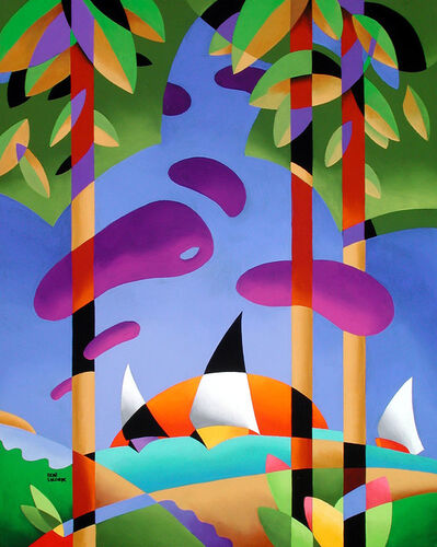 Rene Lalonde, 'Sailing at Sunset', 2005